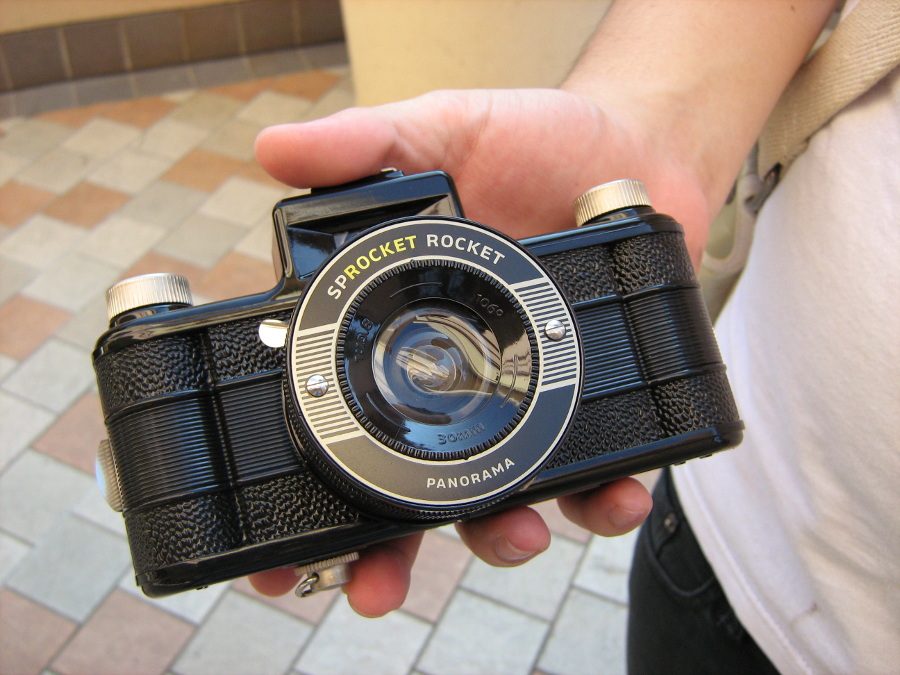 Sprocket Rocket Camera : Lomography sprocket rocket hawaii camera style